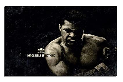Pixel Artz - Adidas - Impossible is Nothing Poster  Amazon.in  Home ... 44fb8ec46