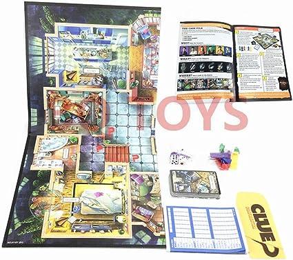 Zzxxo Juegos de Mesa,Casual Estrategia Razonamiento Juego de Mesa Detective Juego de Cartas: Amazon.es: Hogar