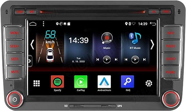 Android 10 Dual Tuner Car Radio Android Car Carplay Elektronik