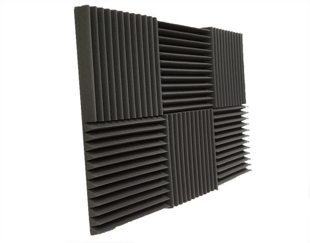6 Pack- Acoustic Panels Studio Foam Wedges 2'' X 12'' X 12'' by Foamily (Image #5)