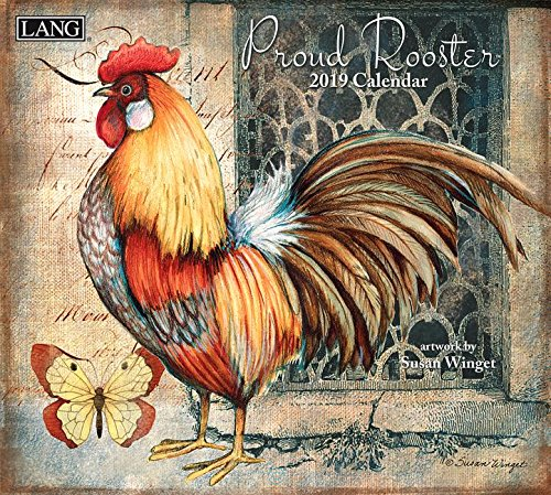 Proud Rooster 2019 Calendar: Includes Free Wallpaper Download