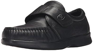 Propet Men's Grant Shoe Black 12 X (3E) & Oxy Cleaner Bundle