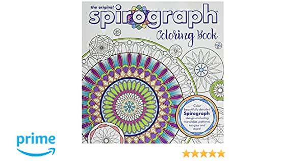 amazoncom spirograph adult coloring book toys games