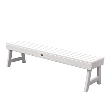 Outstanding Highwood Weatherly Backless Bench 5 Feet White Ibusinesslaw Wood Chair Design Ideas Ibusinesslaworg