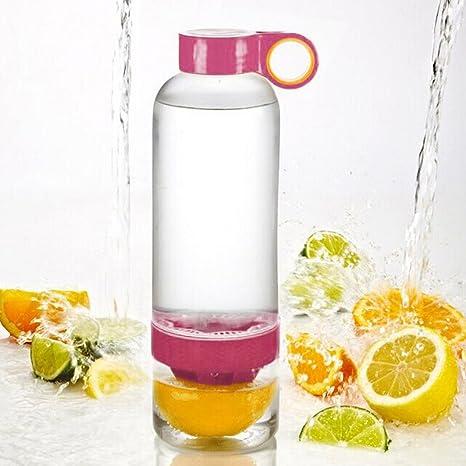 Goodia limón vaso de agua Botella infusión artefacto Salud