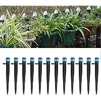 Gotejador de irrigação confiável de 360 graus, 100 peças de irrigação durável, para irrigação de jardim