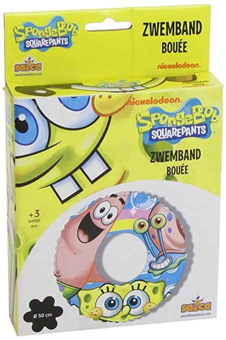 Amazon.com: Nick Jr. Bob Esponja Hinchable flotador: Toys ...