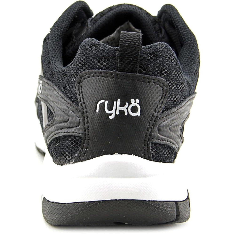 Ryka Women's Stance SMT Black/Metallic Steel Grey/Chrome Silver Sneaker 6 B (M) evlTJ