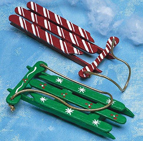 Christmas Sleds Craft Kit (100/Pack) - SSW-XM504 ()