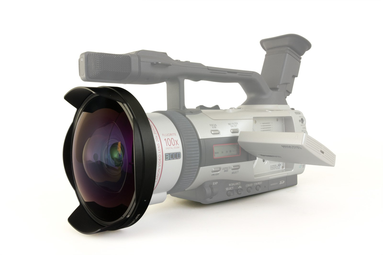 Opteka Titanium Series 52mm 0.3X HD Ultra Fisheye Lens for Sony DCR-TRV900, DCR-VX1000, DSR-200 and DSR-PD100 Video Camcorders by Opteka