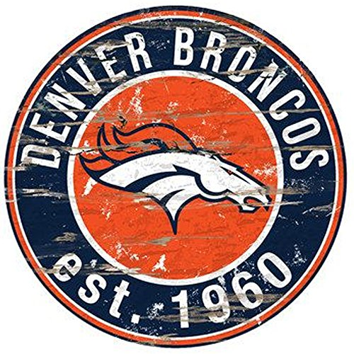 Denver Broncos NFL Team Logo Garage Home Office Room 24