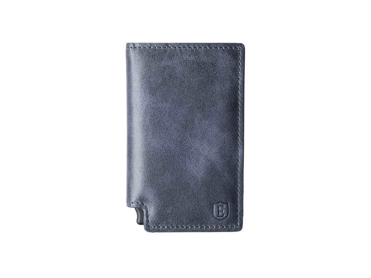 Ekster カードケース+マネークリップ Parliament Wallet B0733MJK7P 15mm slim|スチールブルー スチールブルー 15mm slim
