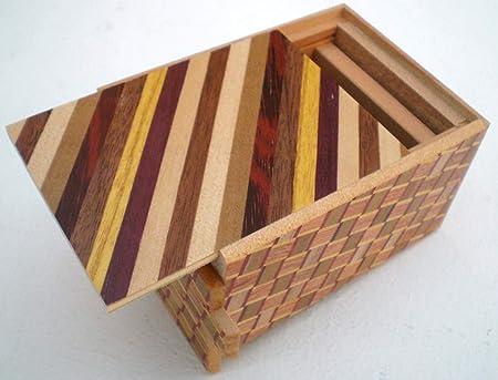 Caja de secretos Himitsu Bako de Japón suns 12 3 movimientos: Amazon.es: Hogar