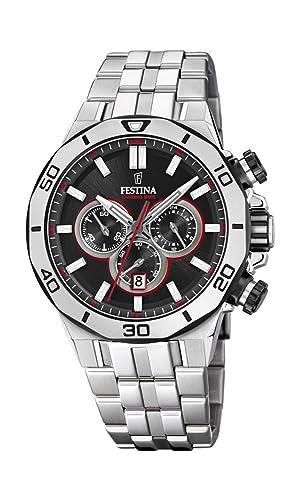 Amazon.com: Festina F20448/4 - Reloj cronógrafo unisex de ...