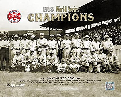 huge selection of f065b 914f7 The Boston Red Sox 1918 World Series Champions 8x10 Photo ...
