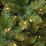 National Tree (KW7-300-30) Kingswood Fir Wrapped Pencil Tree with 50 Clear Lights, 3-Feet