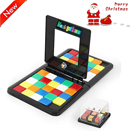 3D Puzzle Race Cube Board Toy Parent-child Interaction Magic Block Game Gifts
