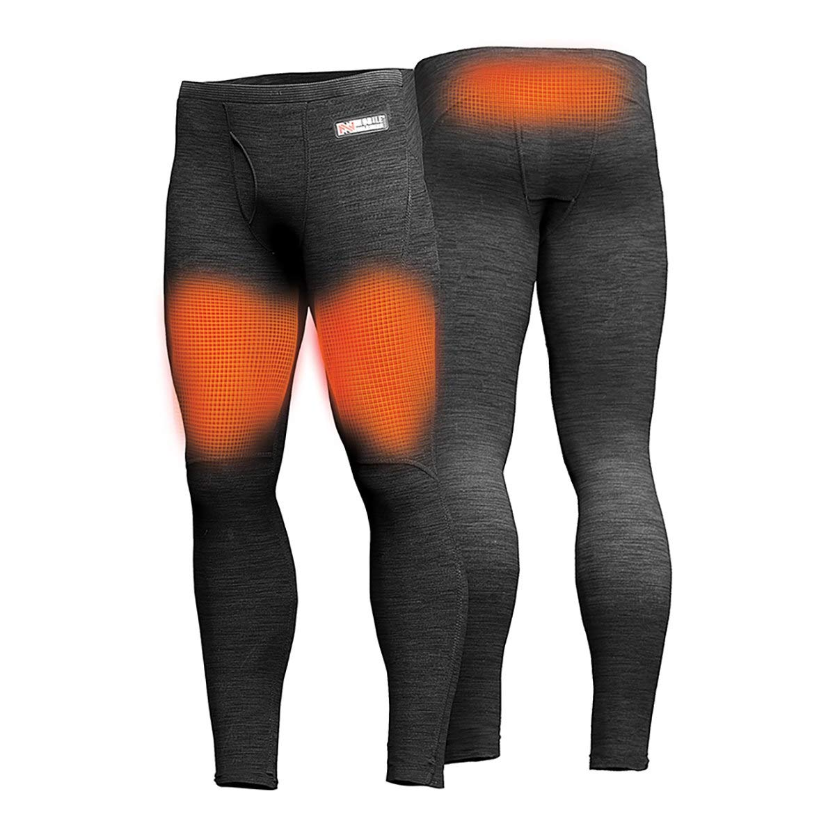 Kadena Mens Primer Heated Baselayer Pant-Black-S