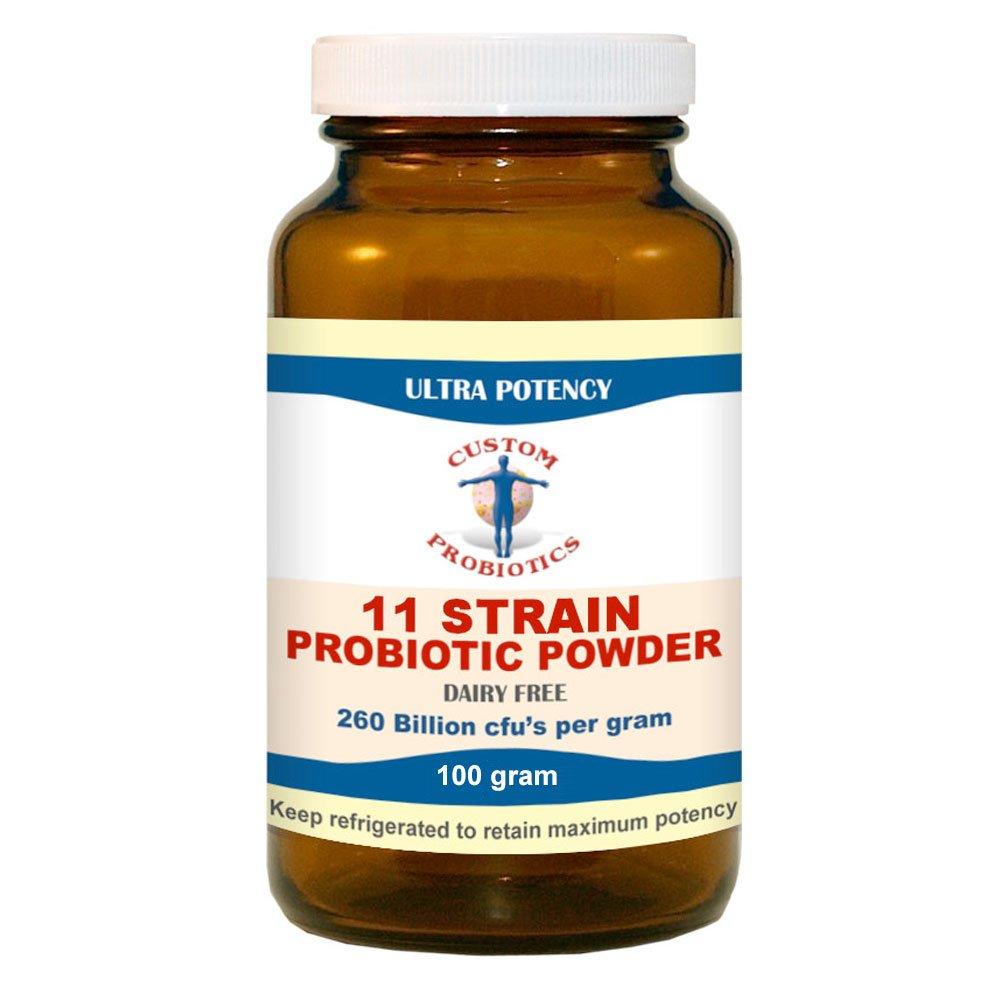 Custom Probiotics - 11 Strain Custom Probiotic Powder (100 Gram)