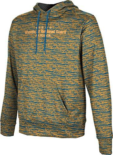 Men's Wyoming Air National Guard Military Brushed Hoodie Sweatshirt (Apparel)