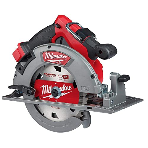 Milwaukee 2732-20 M18 Fuel 18 Volt Lithium-Ion 15 Amp 7-1 4 Inch Cordless Circular Saw Tool Only Non-Retail Packaging