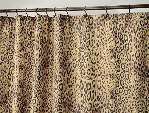 animal print shower curtain set - 8