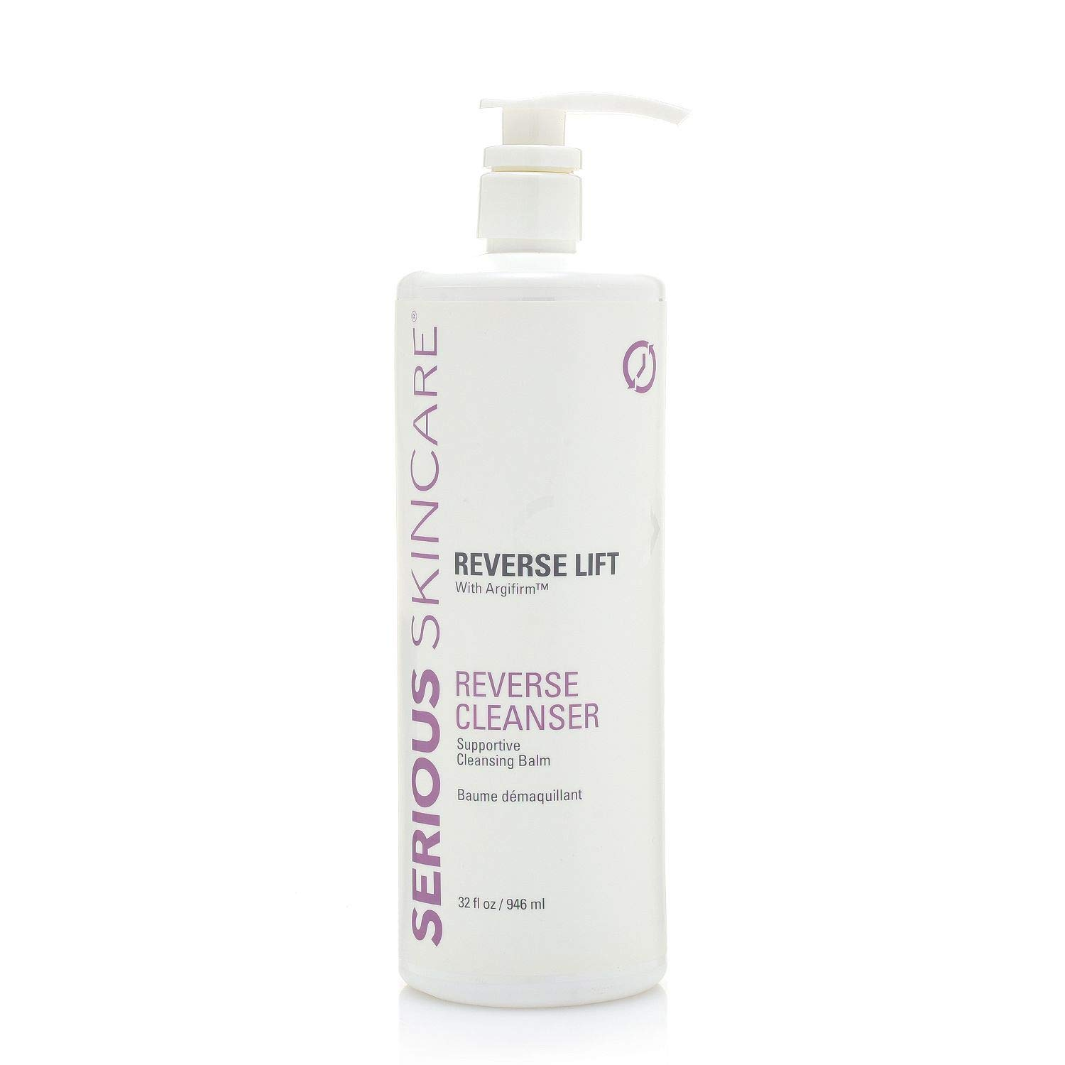 Serious Skincare Reverse Lift Cleanser with Argifirm