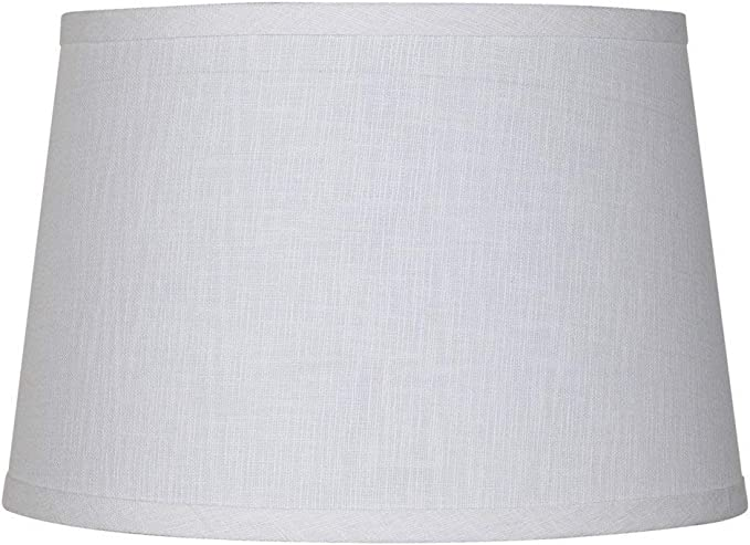 Upgradelights White Linen 12 Inch Uno Lamp Shade Replacement