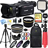 Canon VIXIA HF G40 Camcorder with 20x High Definition Zoom Lens + 64GB Memory and Video Deluxe Accessory Bundle