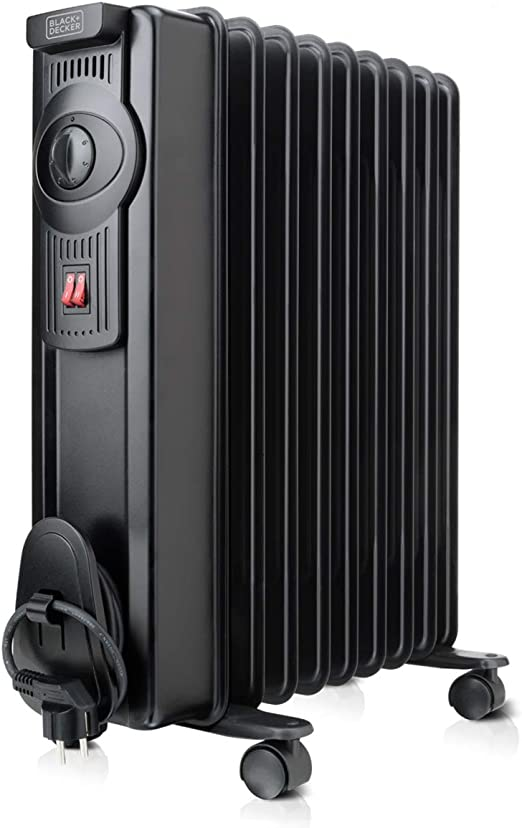 Black+Decker BXRA1500E Radiador, 1500 W, Negro: Amazon.es: Hogar