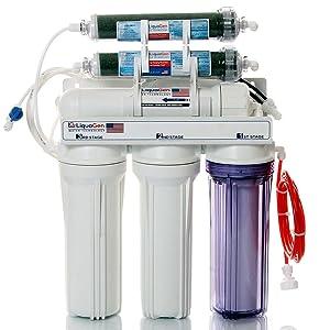 6-Stage Aquarium Reef Reverse Osmosis Water Filter System (RO/DI) | 100 GPD Membrane