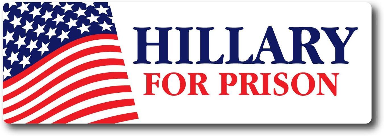 Bumper Sticker Vinyl Decal Democrat Hillary Clinton for President 2016