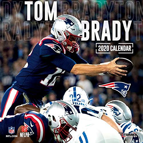New England Patriots 2020.New England Patriots Tom Brady 2020 Calendar Inc Lang