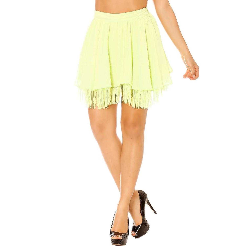 Miss Wear Line Women's Skirt green green
