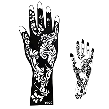Stencils For Tattoo Stencil Henna Designs For Hand And Arm  Single
