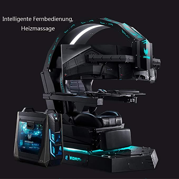 XY-M Elektronisches Spiel-Cockpit, Chef-Bürostuhl, Gaming-Computer-Stuhl, Massagestuhl, Ergonomischer Stuhl, Geeignet Für Das Büro des Präsidenten, Internet-Café-Spiele-Enthusiasten