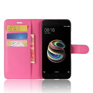 Funda para Xiaomi Mi A1 Faux Cuero Billetera con Stand Función ...