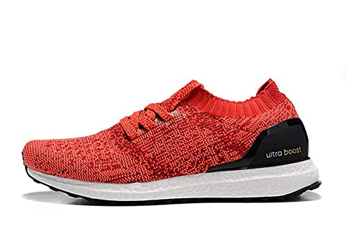 wholesale dealer ec503 bd4cd Womens Running Shoe Ultra Boost Uncaged LTD Fashion Breathable Casual Shoes  Red Black-White