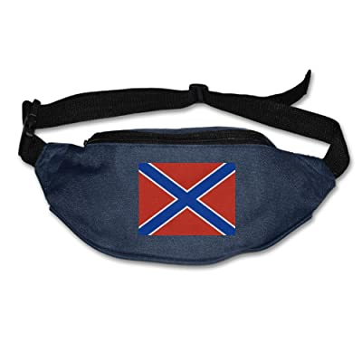 Futong Huaxia Flag Of Novorossiya Unisex Waist Packs Adjustable Outdoor Running Sport Hiking Fanny Packs Wallet durable service