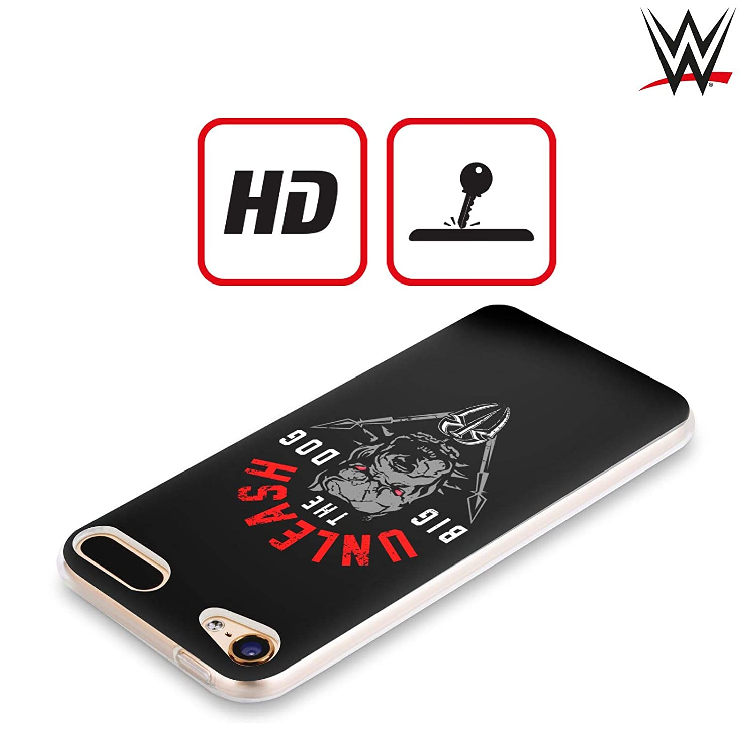 Official WWE Roman Reigns Unleash The Big Dog 2018//19 Superstars 4 Soft Gel Case for Apple iPod Touch 6G 6th Gen