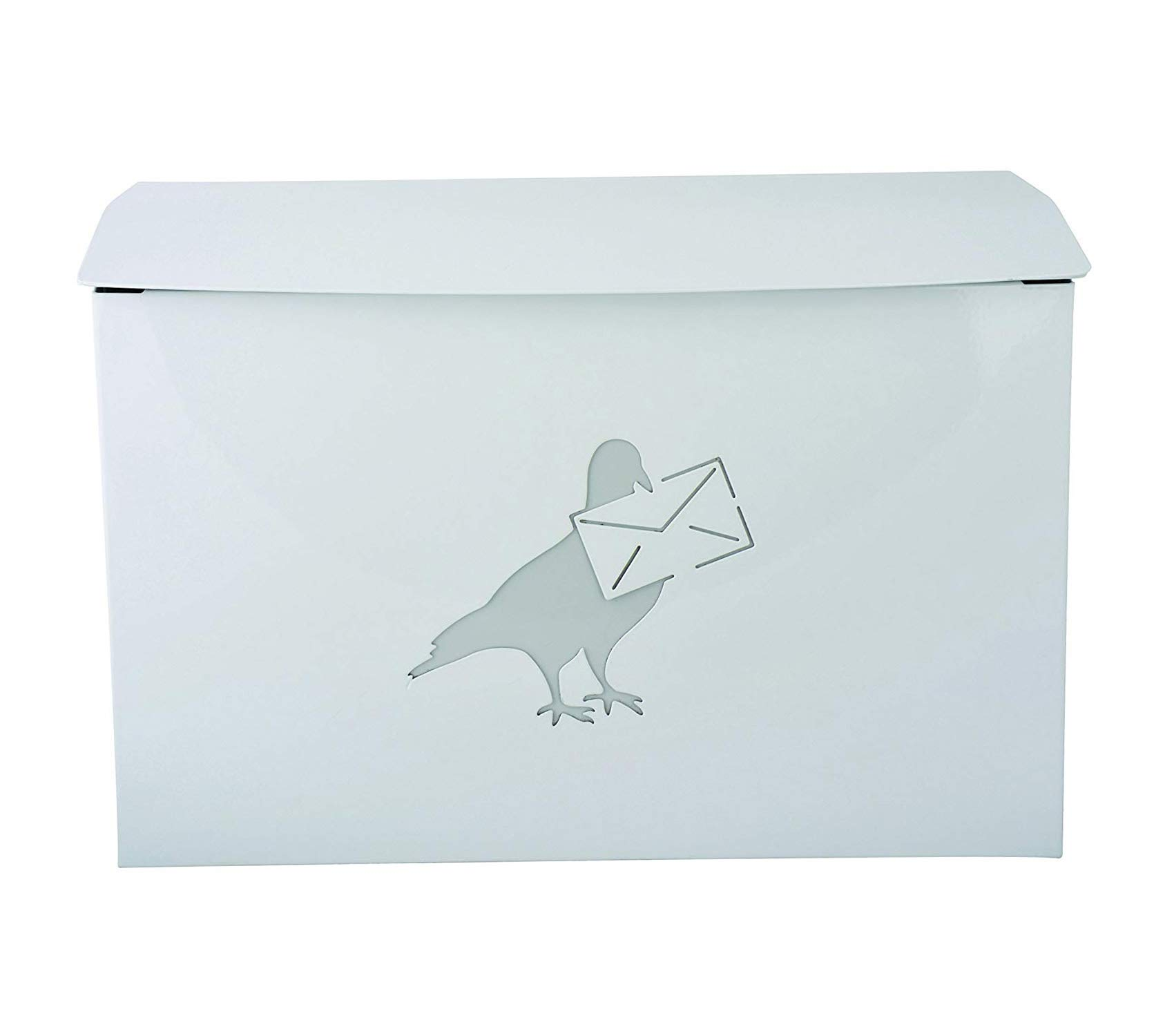 Outdoor Garden Backyard Décor Mailbox with Dove Design
