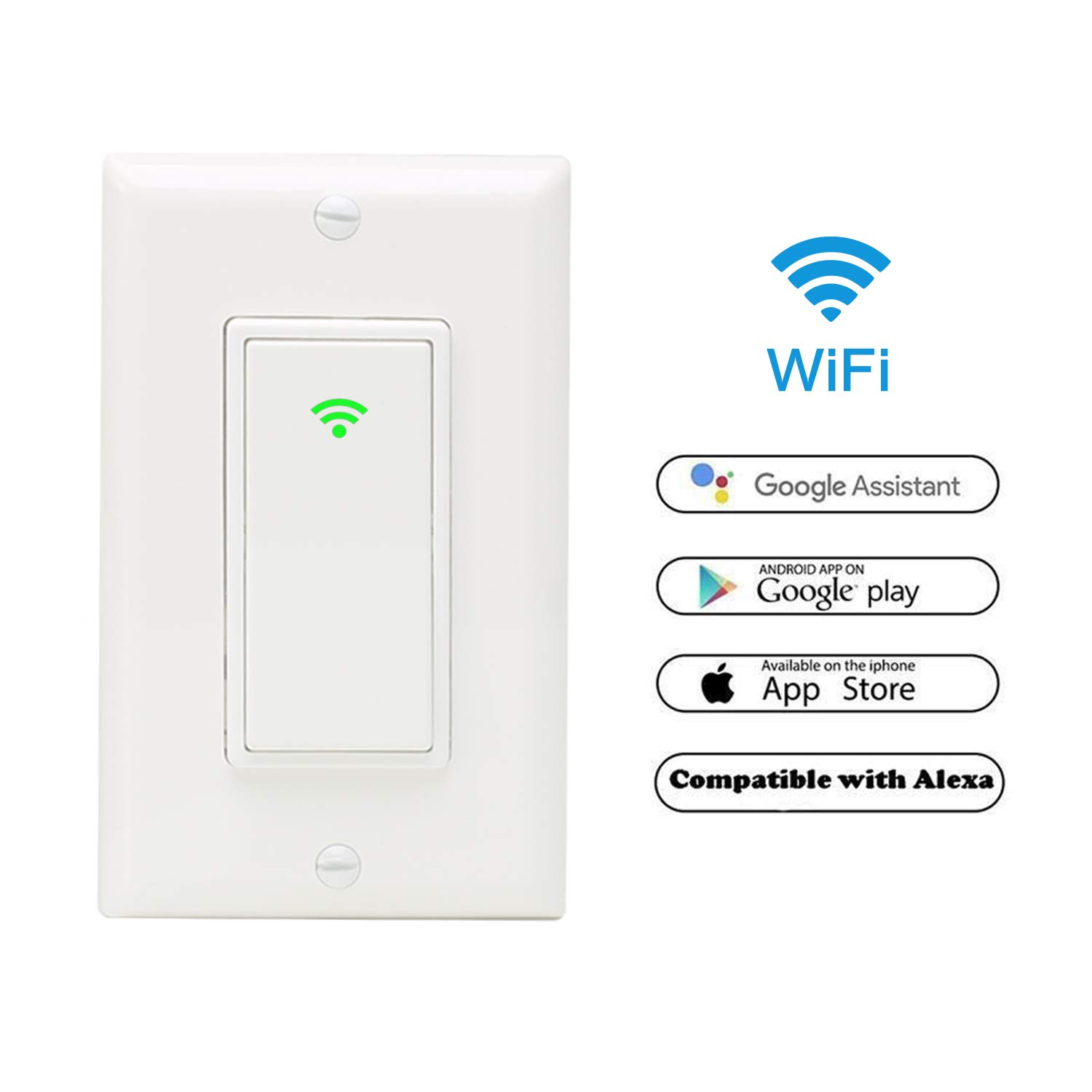 smart switches smart timer switch for light alexa wall switch