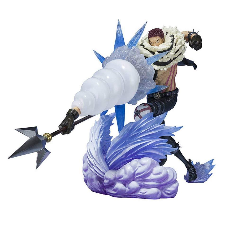 HappyL Ein Stück Anime Statue Kata Ku Li Exquisite Anime Dekoration -21.5CM Spielzeugstatue