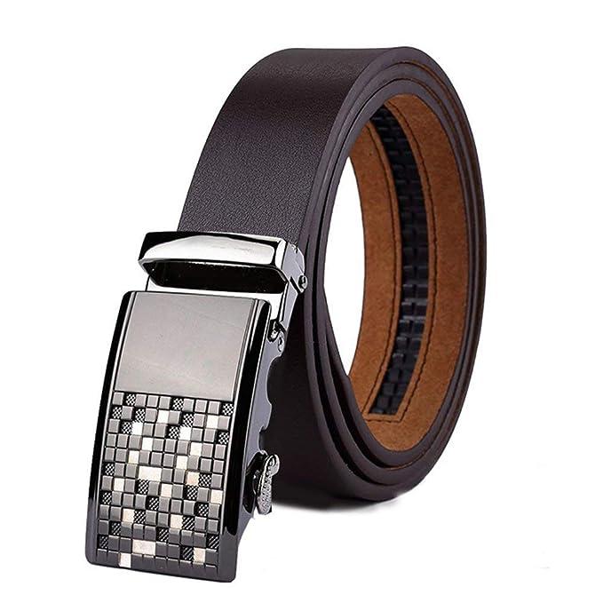 Cinturones De Hebilla Automáticos Originales Para Hombres Regalos Elegante  Moda  Amazon.es  Ropa y accesorios b4f55155beb6