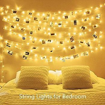Amazon Com Aostar 20 Led Photos Clips String Lights