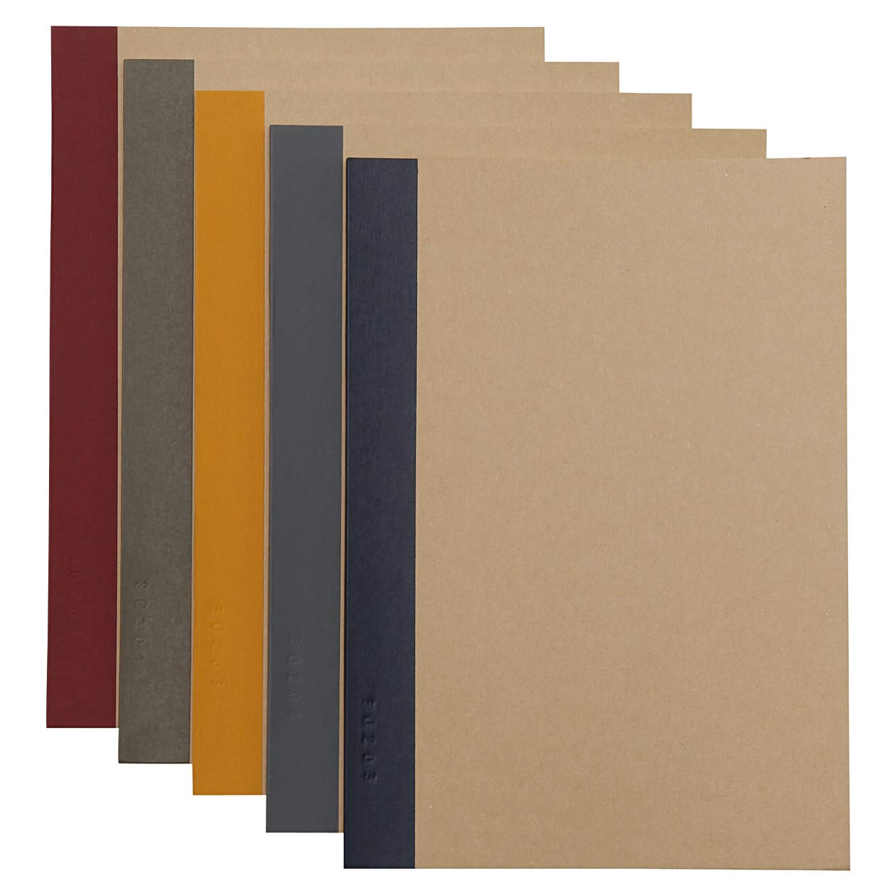 Muji Notebook A5 6Mm Rule 30Sheets Pack Of 5Books