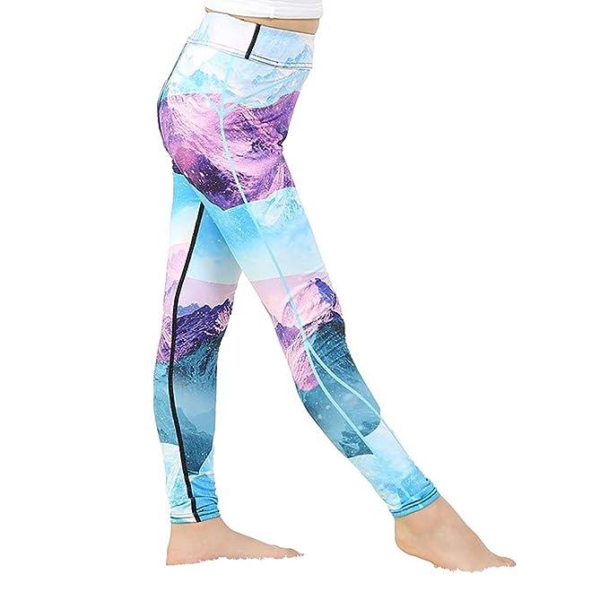 Pantalones de Yoga para jóvenes - Pantalones de Deporte ...