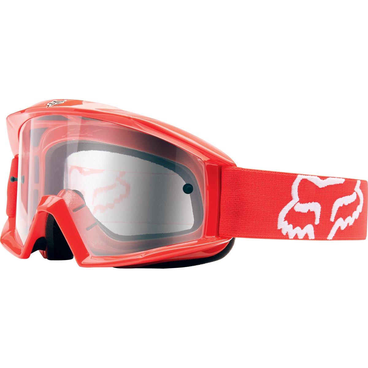 Fox Racing Main Adult Moto Motorcycle Goggles Eyewear - Red/One Size