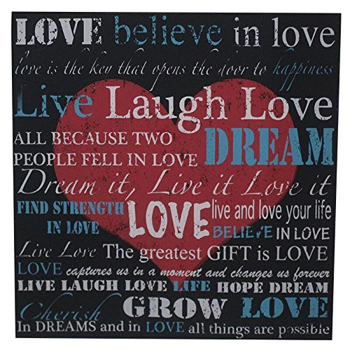 Amazoncom Essential Decor Beyond 1131 Love Peace Frame 3
