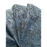 Tissue Paper for Gift Wrapping with Design (FOR BABY - SOFT BLUE WOODLAND SCENE), 24 Large Sheets (20x30)